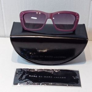 NEW MARC by Marc Jacobs Purple Bling Sunglasses